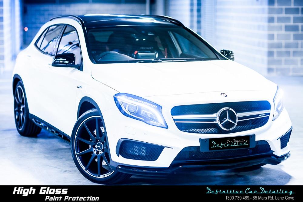 Mercedes AMG GLA45 Best Car Detailing