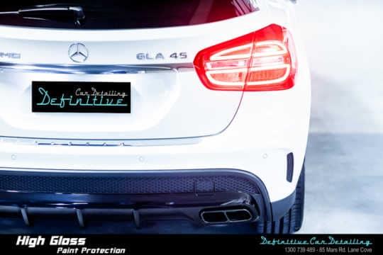 Mercedes AMG GLA45 Paint Correction