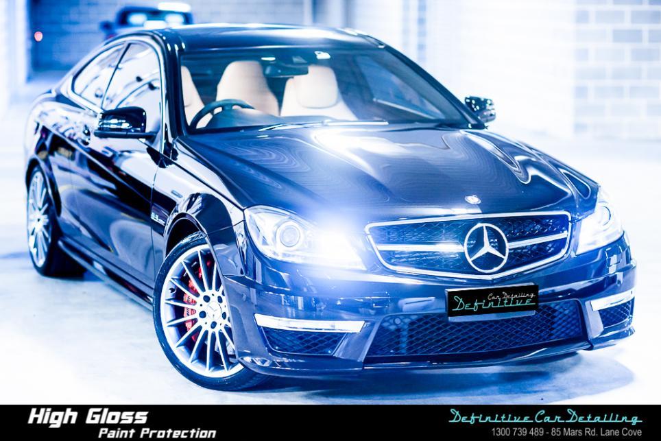 Mercedes C63 AMG Best Car Detailing