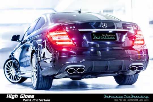 Mercedes C63 AMG Car Detailing