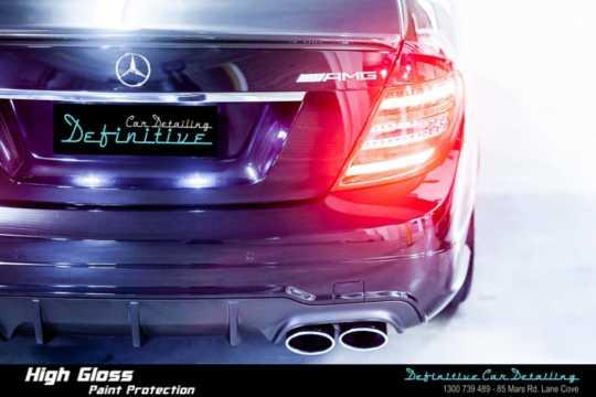 Mercedes C63 AMG Paint Correction