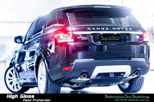Range Rover Car Detailing