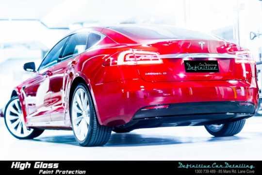 Tesla Model S Car Detailing