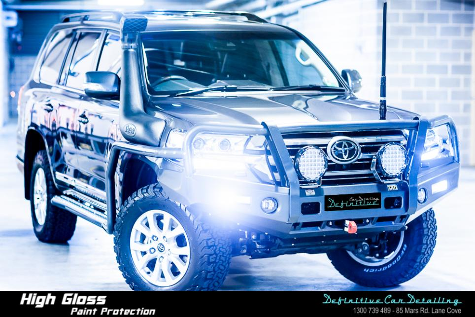 Toyota Land Cruiser Best Car Detailing