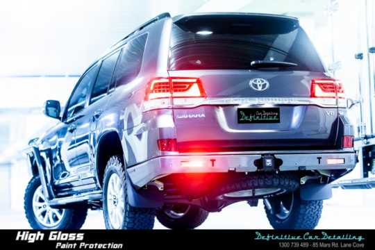 Toyota Land Cruiser Car Detailing