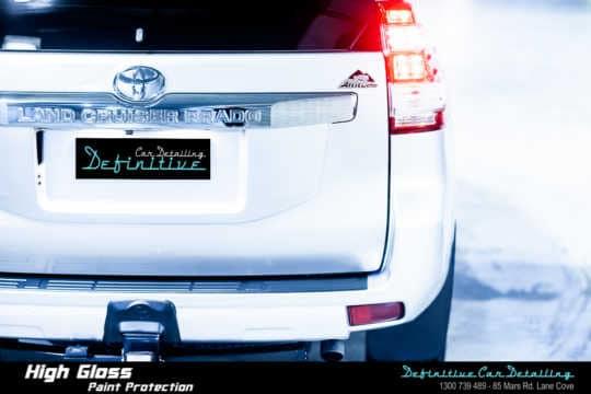 Toyota Prado Paint Correction