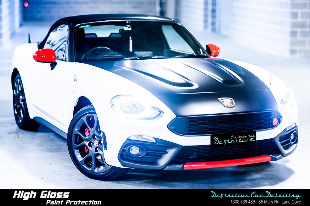Abarth 124 Spider Turini Best Car Detailing