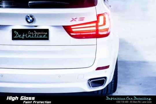 BMW X5 Paint Correction