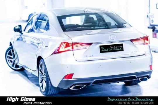 Lexus IS350 Car Detailing