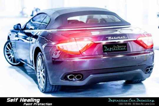 Maserati GranTurismo Car Detailing