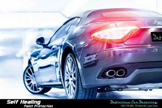 Maserati GranTurismo Paint Correction