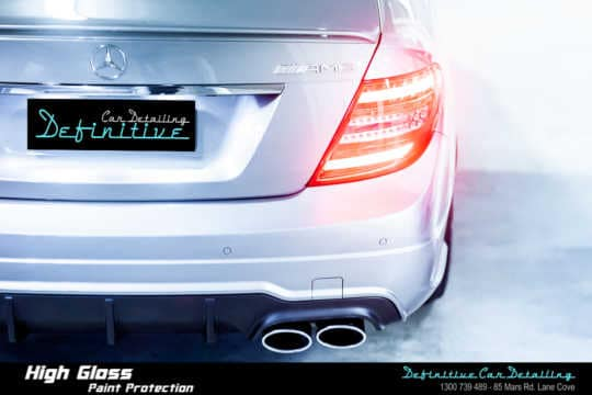 Mercedes C63 AMG Paint Correction