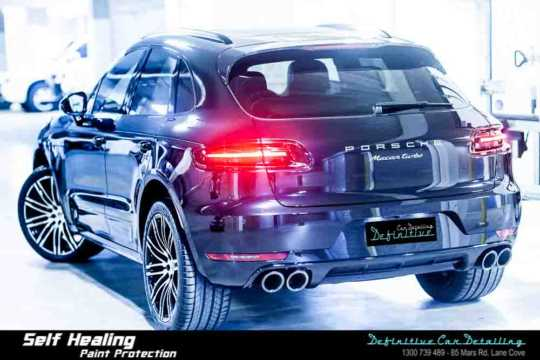 Porsche Macan Turbo Car Detailing