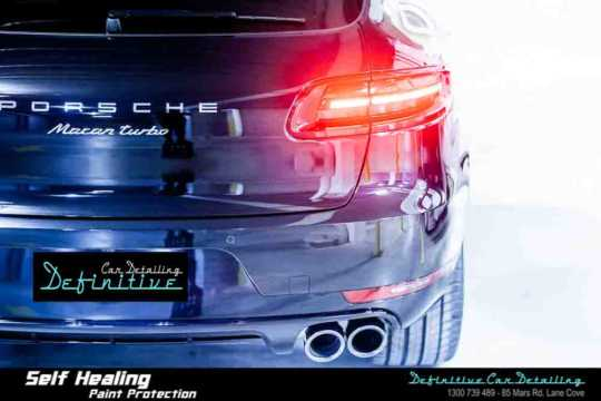 Porsche Macan Turbo Paint Correction