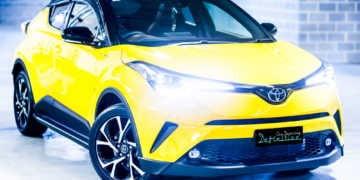 Toyota C-HR Best Car Detailing