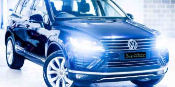VW Touareg Best Car Detailing