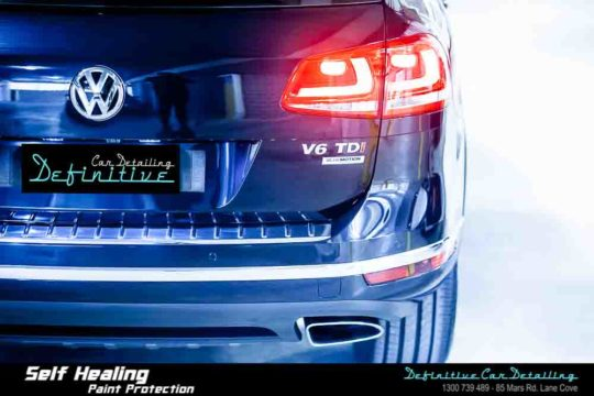 VW Touareg Paint Correction