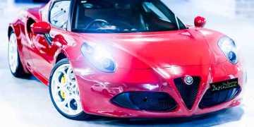 Alfa Romeo 4C Best Car Detailing