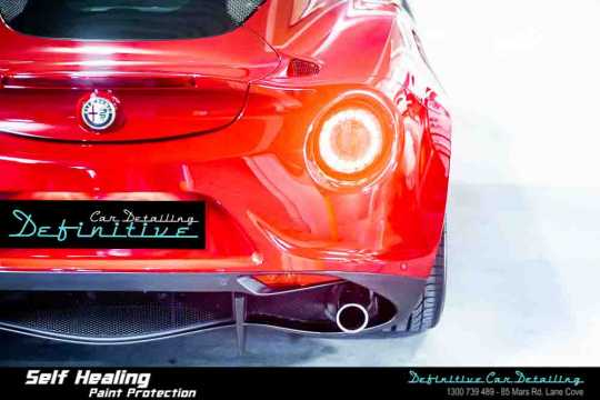 Alfa Romeo 4C Paint Correction