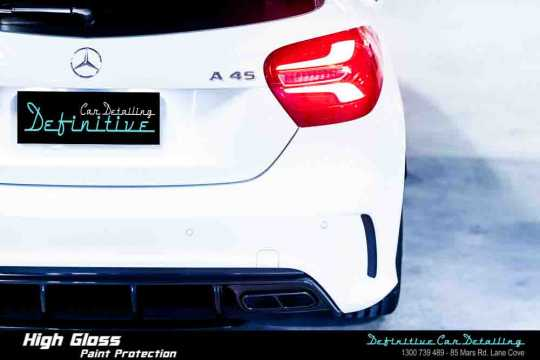 Mercedes AMG A45 Paint Correction