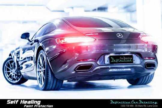 Mercedes AMG GTS Car Detailing