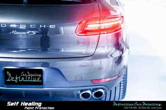Porsche Macan S Paint Correction