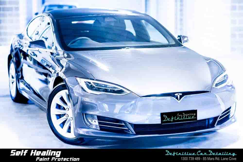 Tesla Model S Best Car Detailing