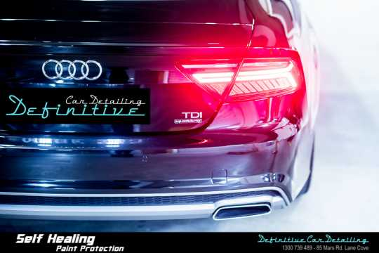 Audi A7 Paint Correction