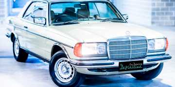 Mercedes 280CE Best Car Detailing