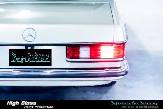 Mercedes 280CE Paint Correction