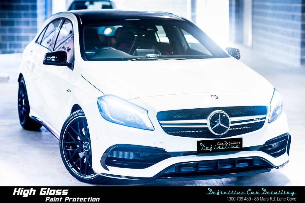 Mercedes AMG A45 Best Car Detailing