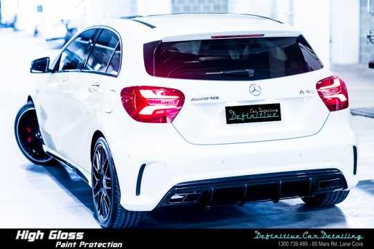 Mercedes AMG A45 Car Detailing