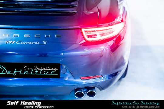 Porsche 911 Carrera S Paint Correction