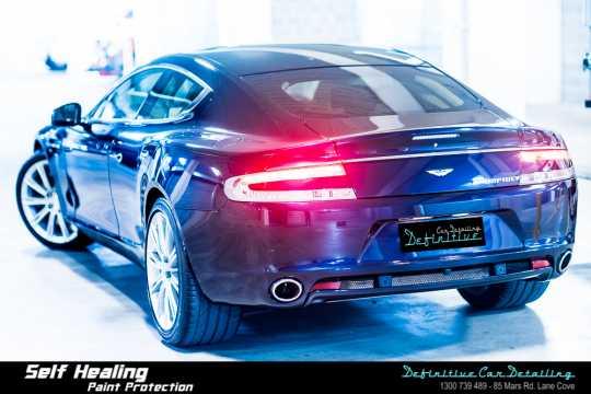 Aston Martin Rapide Car Detailing