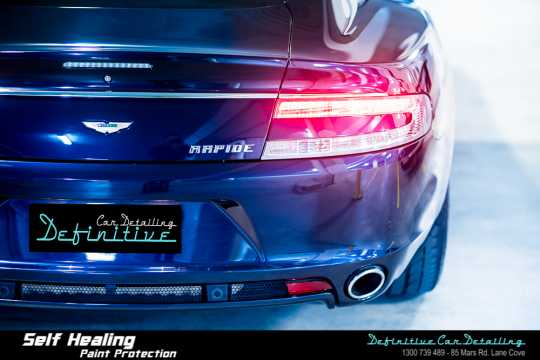 Aston Martin Rapide Paint Correction