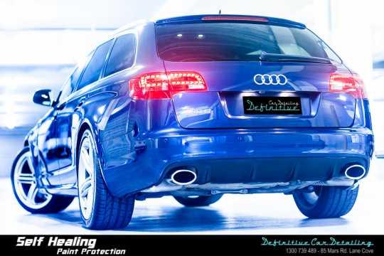 Audi RS6 Car Detailing