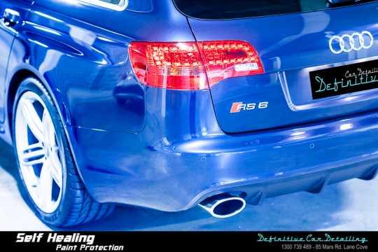 Audi RS6 Paint Correction