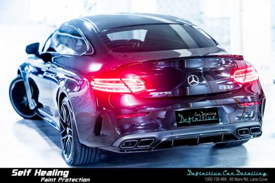 Mercedes AMG C63s Car Detailing