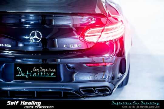 Mercedes AMG C63s Paint Correction